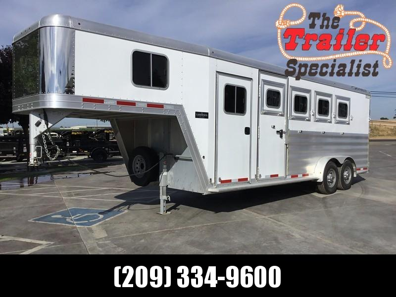 USED 2015 Featherlite Legend edition extra tall 4H GN Horse Trailer