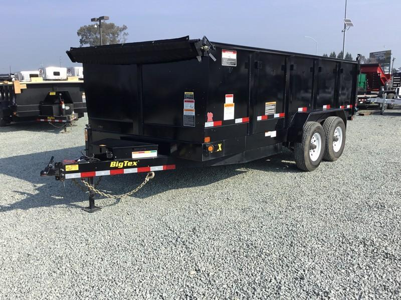 USED 2018 Big Tex 14LX-16P3 Dump Trailer 7x16 14k