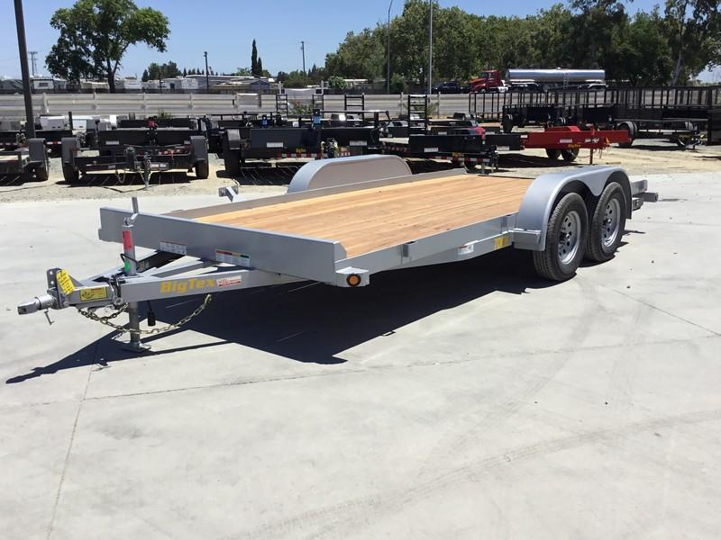 New 2020 Big Tex 70CH-16BRK2 7x16 Car / Racing Trailer
