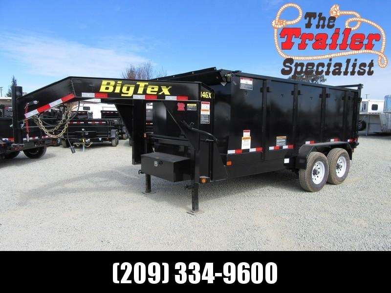 New 2019 Big Tex 14GX-14P4 7x14 GN 14K GVW Dump Trailer