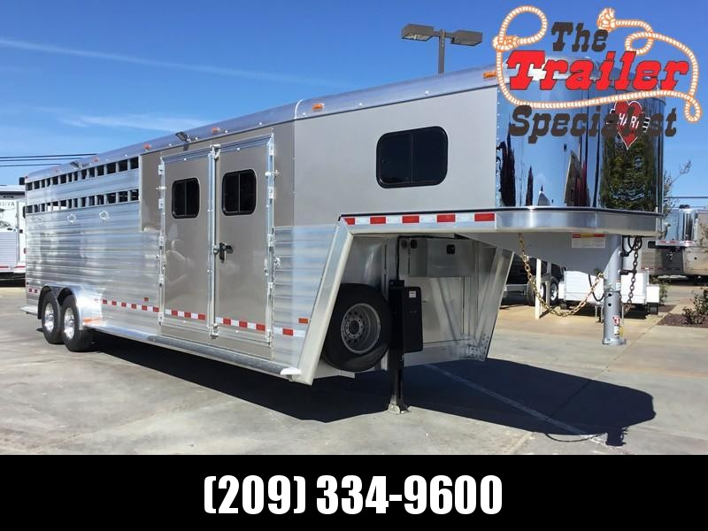 NEW 2019 Hart Trailers 26 ft Smart tack Stock Combo Livestock Trailer