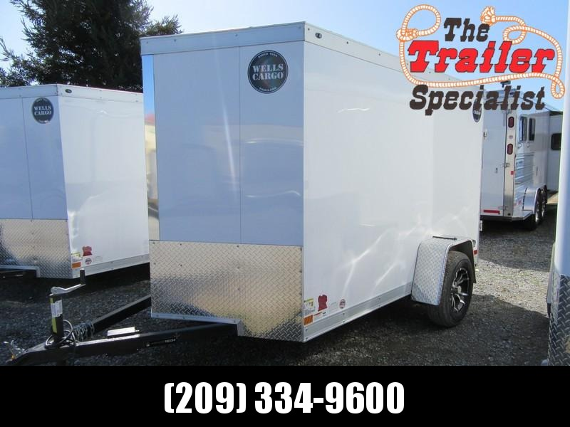 New 2018 Wells Cargo WCVG610S 6x10 Enclosed Cargo Trailer Vin 51008