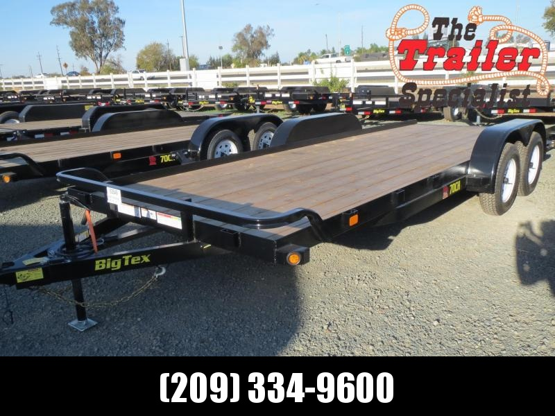 New 2019 Big Tex 70CH-20 7x20 Car / Racing Trailer