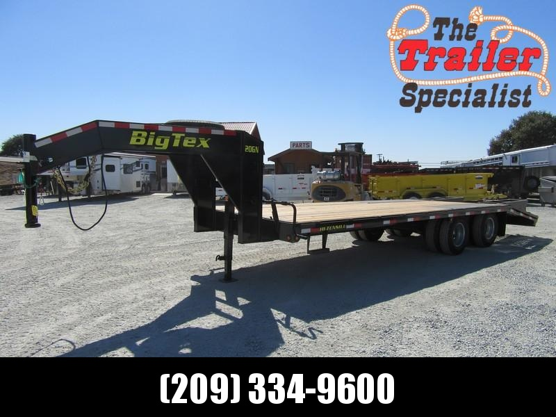 New 2019 Big Tex 20GN-20+5 Equipment Trailer 8.5X20 20K