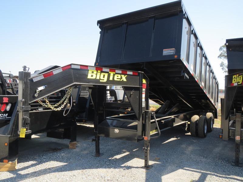 New 2017 Big Tex 25DU-20 8x20 25K GVW Dump Trailer Vin:58434