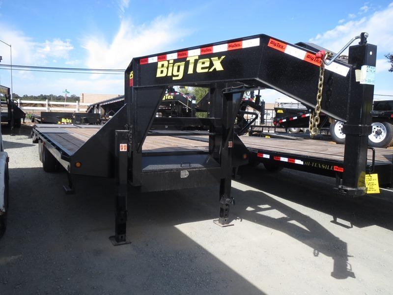 2017 Big Tex 22GN-20+5MR Equipment Trailer VIN:40708