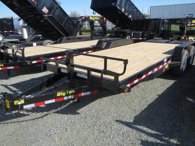 New 2018 Big Tex Trailers 14ET-20MR Equipment Trailer 7x20 14k VIN:18539