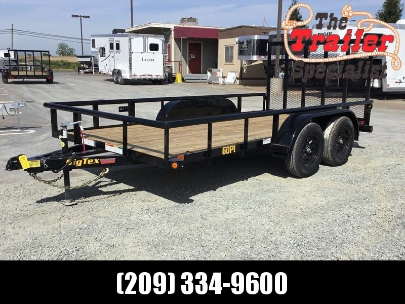 2019 Big Tex Trailers 60PI-14RG Utility Trailer