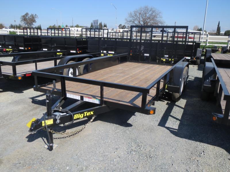 New 2018 Big Tex 50LA-14-4RG 6.5x14 Utility Trailer VIN:88991