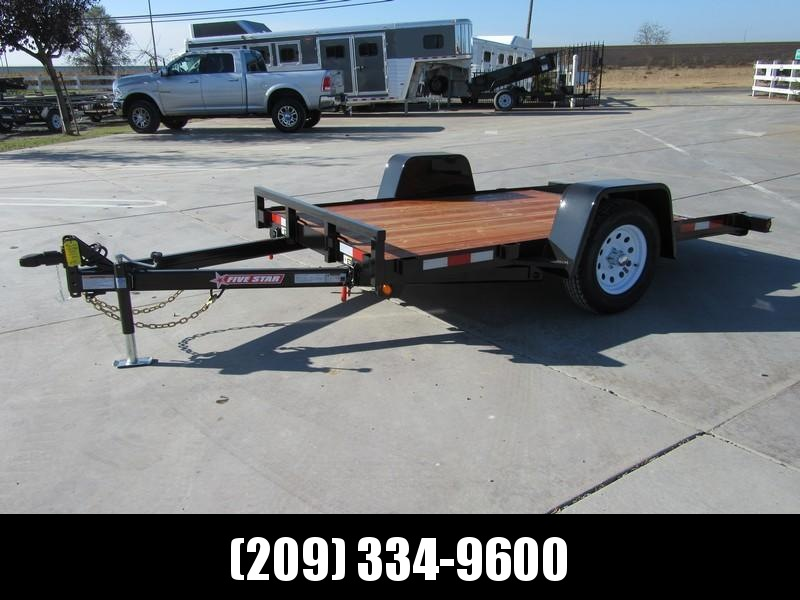 NEW 2019 FIVE STAR UT304 5K 6.5x10 TILT UTILITY TRAILER