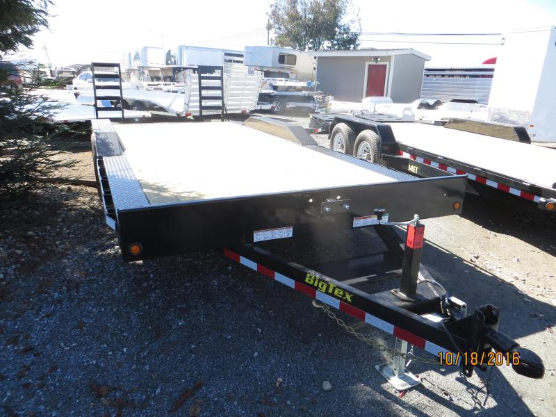 "2017 Big Tex Trailers 10DF-20 Equipment Trailer 96""x20' 10k VIN:31147"