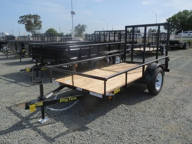 New 2017 Big Tex Trailers 30SA-10 5x10 Utility Trailer Vin:44083