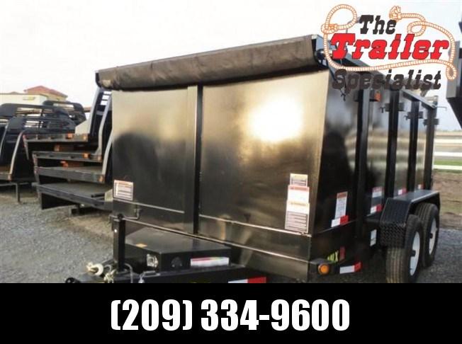 2018 Big Tex 14LX-12P4 7x12 4' sides Dump Trailer 14K VIN:90262