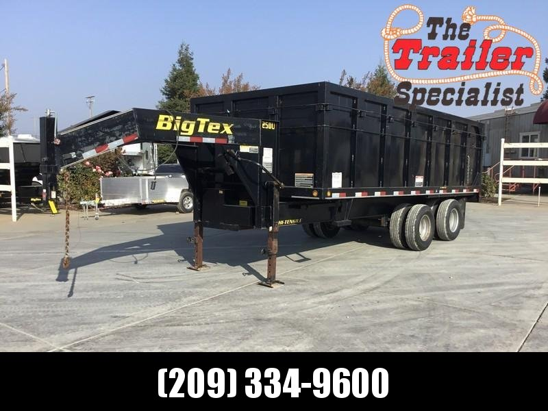 Used 2008 Big Tex 25DU-18 25900 GVW 8.5x18 Dump Trailer