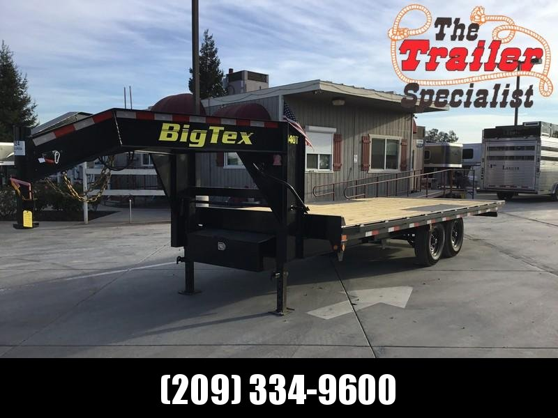 "NEW 2019 Big Tex 14OT-22GN 14k GVW  102"" x 22' Tilt Equipment Trailer"