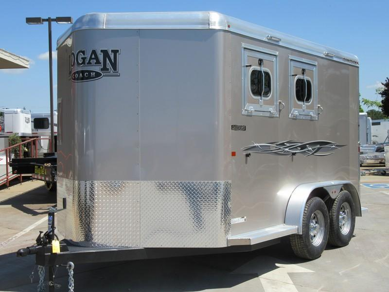 New 2017 Logan Rampage 2H BP Horse Trailer VIN05340