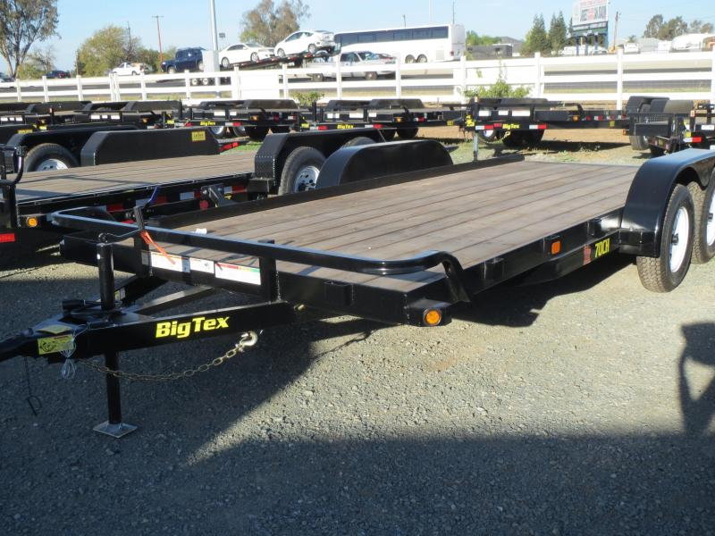 New 2020 Big Tex 70CH-18BRK2 7x18 7K GVW Car/Racing Trailer