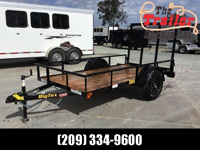 New 2020 Big Tex 30ES-10 Economy Utility Trailer