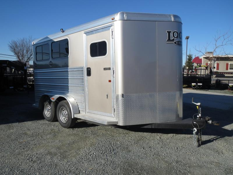 New 2016 Logan Razor 2H BP Horse Trailer VIN03956