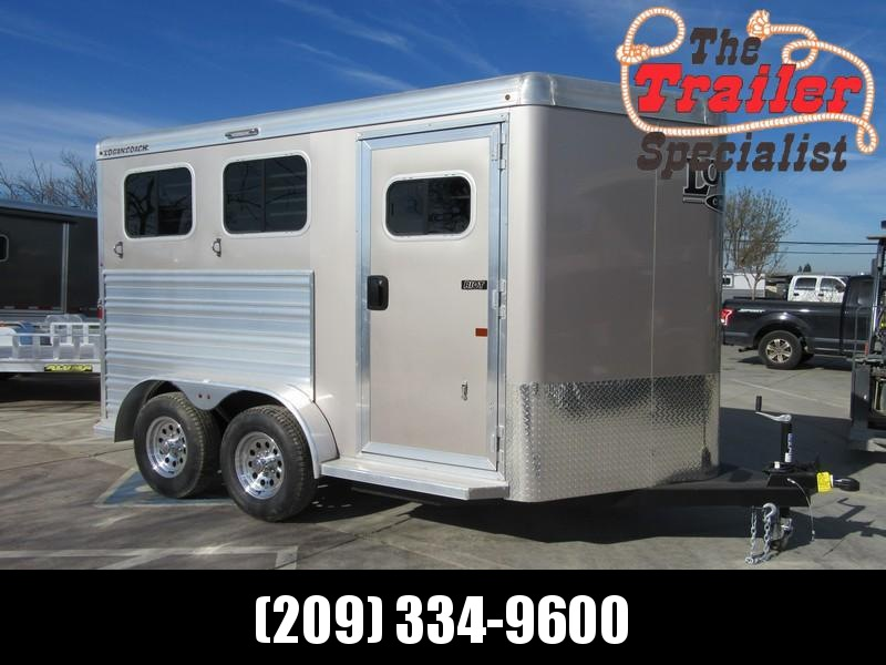 New 2018 Logan Coach Riot 2H BP Horse Trailer Vin 06089