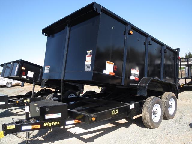 New 2017 Big Tex 10LX-10P4 Dump Trailer 7x10 VIN:68785