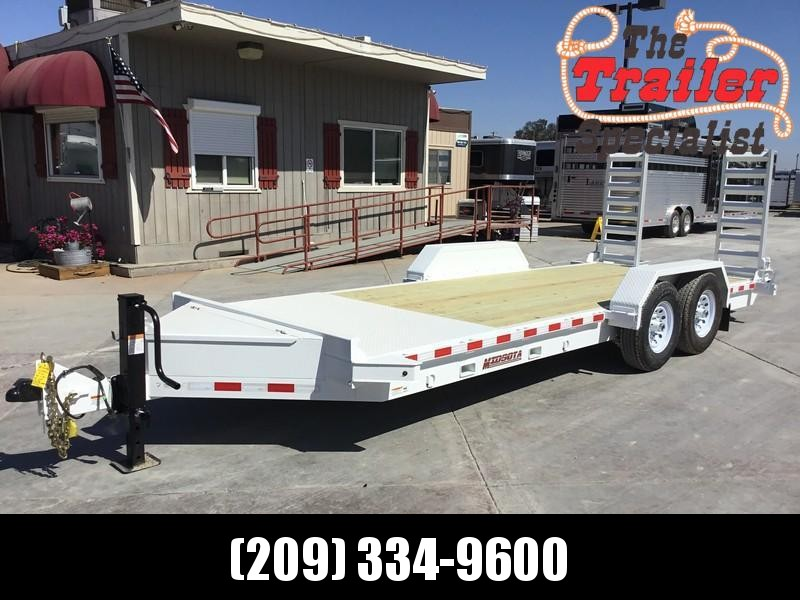 NEW Heavy Duty 2019 Midsota ST-20 7x20' 15400 GVW Equipment Trailer