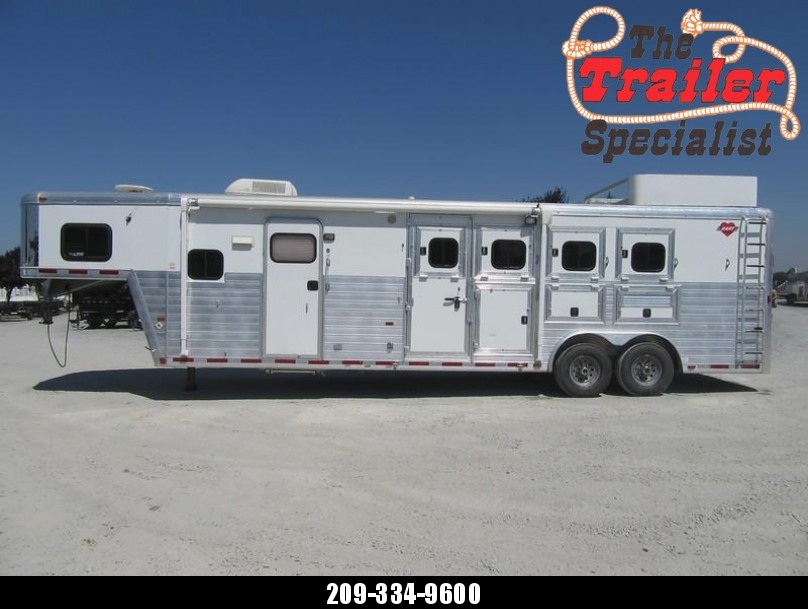 2005 Hart Ultimate 4H 12 LQ Horse Trailer VIN 51386