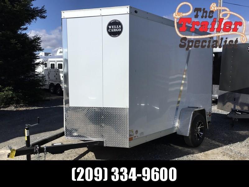 2018 Wells Cargo WCVG610S 6x10 Enclosed Cargo Trailer