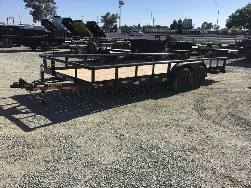 New 2020 Big Tex 10PI-20 7x20 10K GVW Pipe Utility Trailer