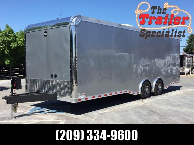 NEW 2019 Wells Cargo Motortrac Race Trailer Enclosed Cargo Trailer