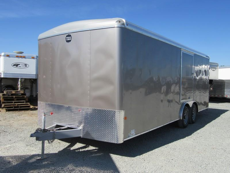 New 2017 Wells Cargo RF85x224 8.5x22 10K Enclosed Cargo Trailer Vin42261