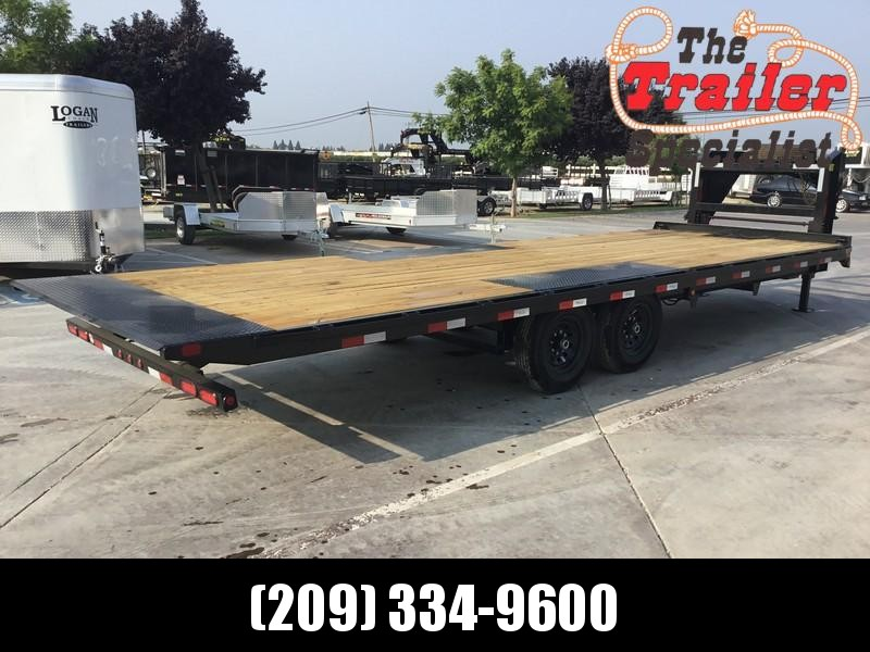 "New 2019 Big Tex 14OT-26GN 14K GVW 102""x26 Flatbed Trailer"