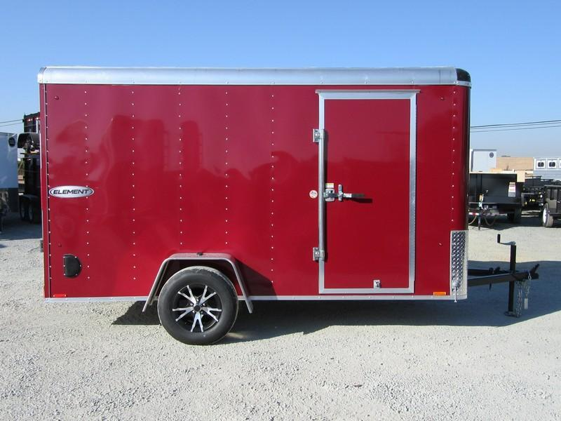 New 2018 Look ERLC6X12SI2 6x12 Enclosed Cargo Trailer Vin 19858