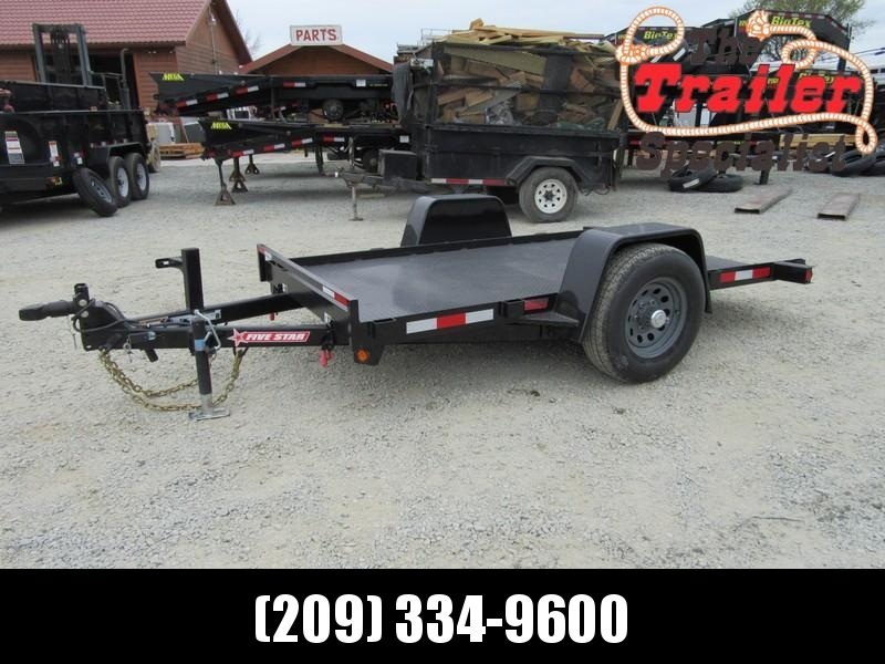 New 2018 Five Star UT269 5K 5.5x10 Tilt Utility Trailer VIN 32164