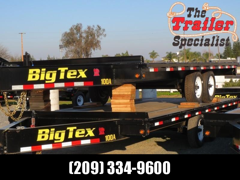 NEW 2018 Big Tex 10OA-18SIR Flatbed Trailer 8.5x18