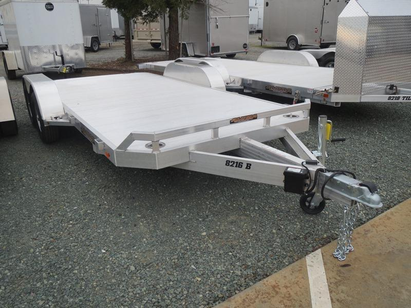 "New 2019 Aluma 8216B Car / Racing Trailer 82""x16' 7k GVW"