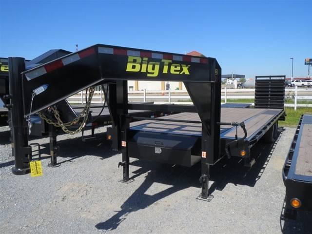 New 2017 Big Tex 14GN-20+5MR 14k Equipment Trailer vin70072