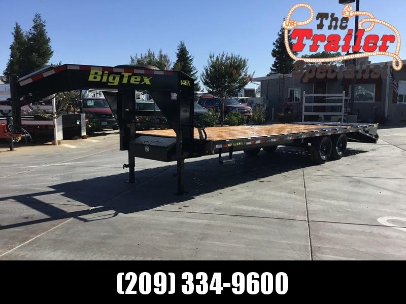 New 2019 Big Tex 14GN-20+5MR 15900# GVW Equipment Trailer