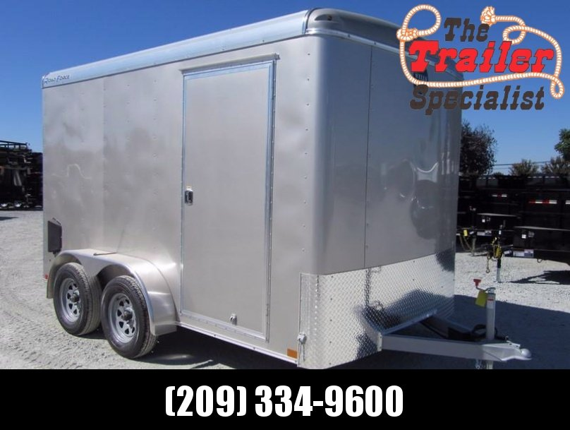 New 2018 Wells Cargo RF7x122 7x12 Enclosed Cargo Trailer Vin 59602