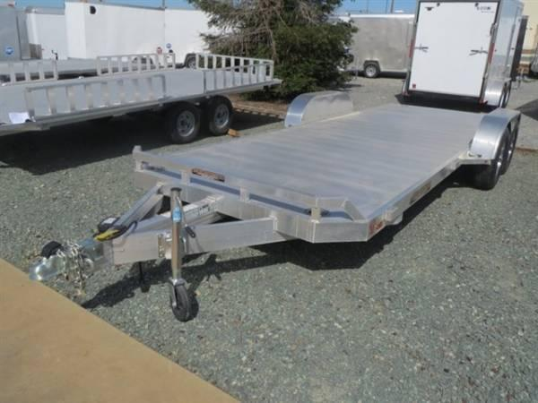"2016 Aluma 8220H 82""x20' Car / Racing Trailer Vin 37809"