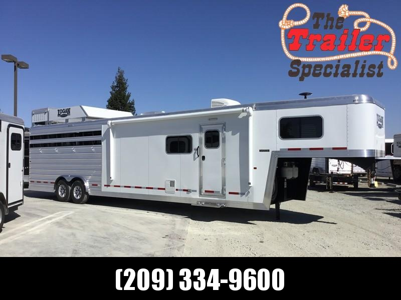 NEW 2019 Logan Coach 14 ft Limited 12ft LQ GN Horse Trailer