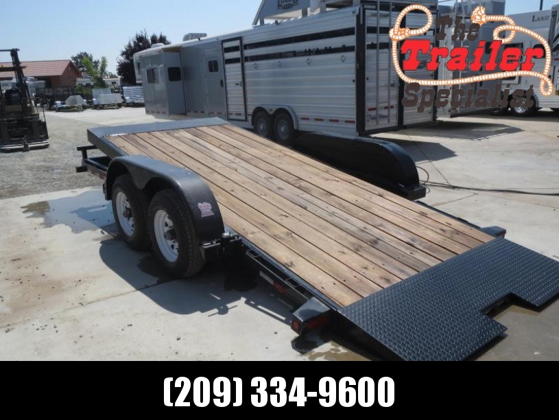 "New 2018 Big Tex 10FT-16 80""x16' 10K GVW Tilt Equipment Trailer Vin:99603"