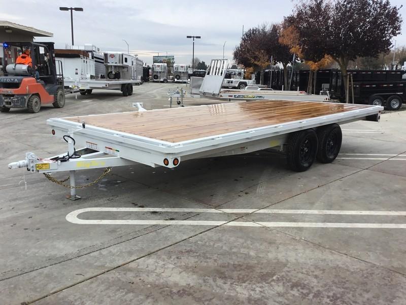 New 2019 Big Tex 70OA-18 8.5x18 Deck Over Utility Trailer