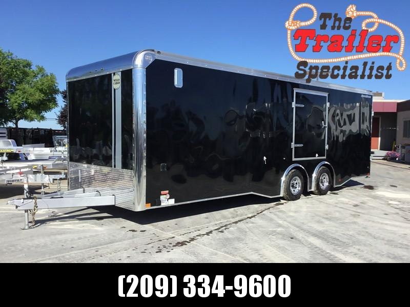 NEW 2019 Wells Cargo RFRT85X2624 8.5x26 Enclosed Car / Racing Trailer