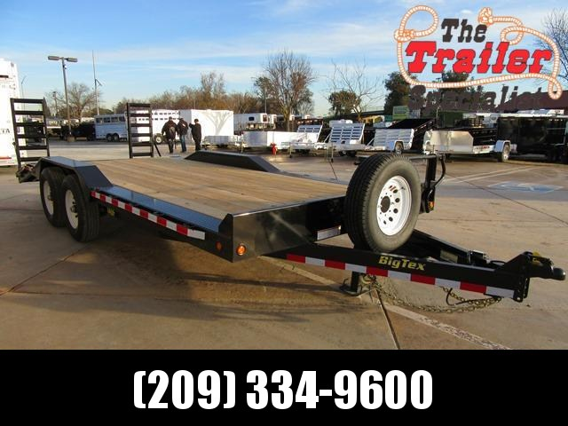 "New 2018 Big Tex 14DF-20 102""x20 Equipment Trailer VIN:80113"