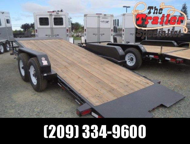 New 2018 Big Tex 14FT-18 Tilt Equipment Trailer 7x18 Vin 44877