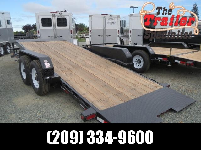 New 2020 Big Tex 14FT-18 Tilt Equipment Trailer 7x18
