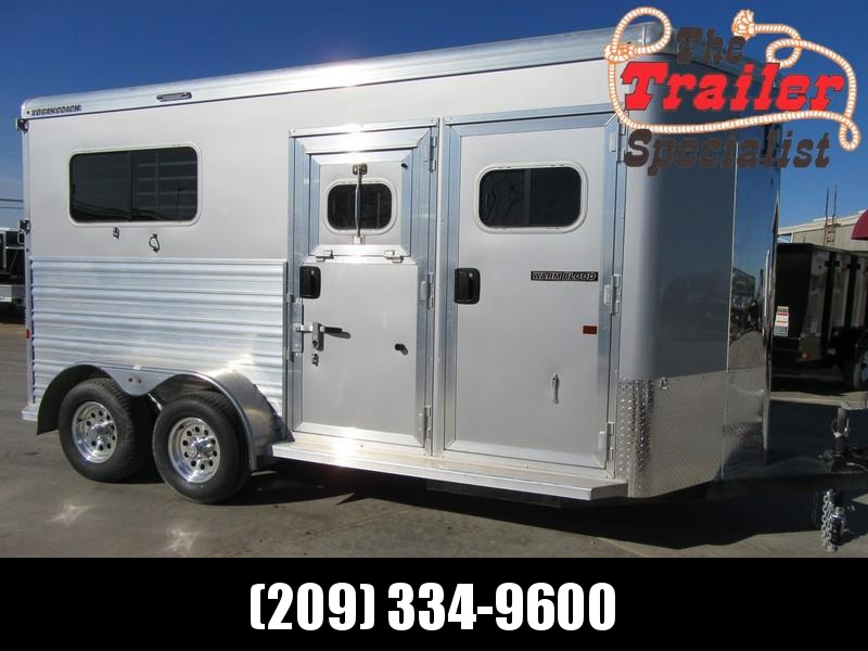 New 2018 Logan 2H Warmblood Straightload Horse Trailer Vin 06189