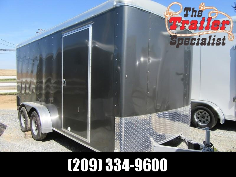 New 2018 Wells Cargo RF7x162 7x16 Enclosed Cargo Trailer