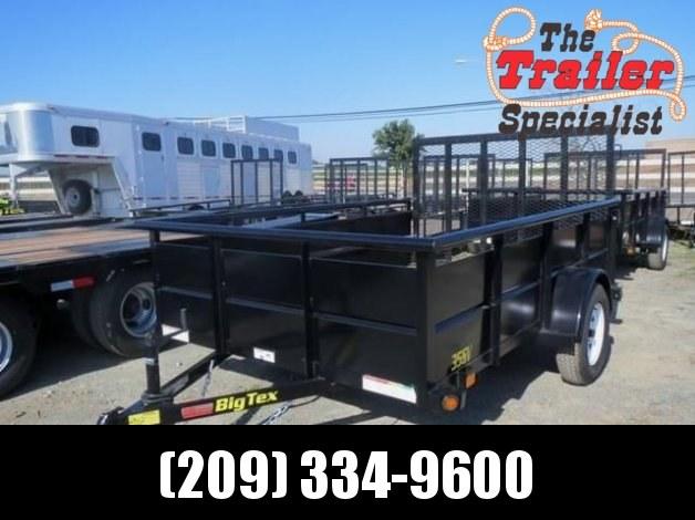 New 2018 Big Tex 35SV 6.5x12 Utility Trailer Vin 96554